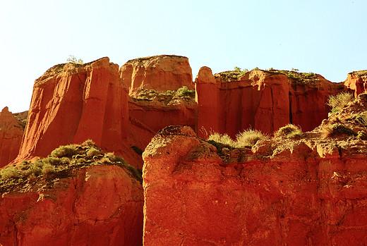【青海】黄河源头鲜为人知的丹霞奇观-贵德国家地质公园,贵德县,海南藏族自治州