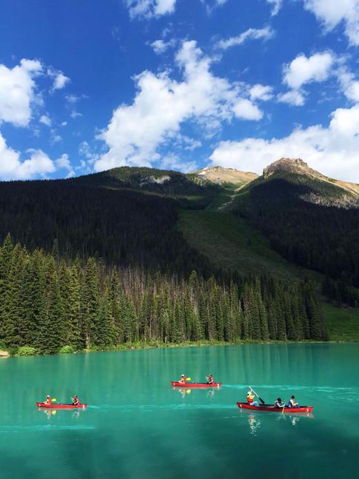 漫游彩色加拿大-路易斯湖,温哥华,蒙特利尔,卡尔加里,多伦多