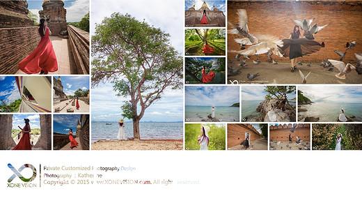 K妞暴走星球之泰国篇-拜县,芭堤雅,塔佩门,珊瑚岛-泰国,清迈