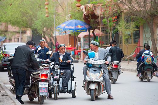 喀什古城-艾提尕尔清真寺,新疆