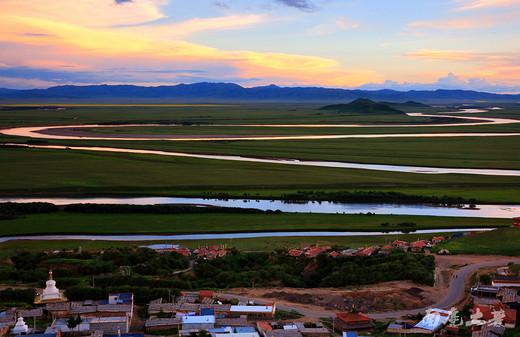 黄河九曲第一湾,看母亲河最初的模样-黄河第一湾,索克藏寺,唐克镇,若尔盖大草原,若尔盖