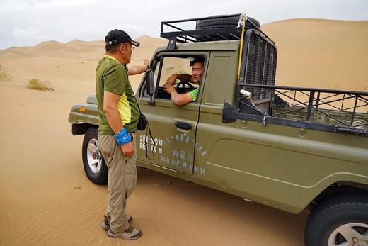 沙漠探险,齐哥带我闯巴丹吉林(上)-巴丹吉林沙漠,内蒙古