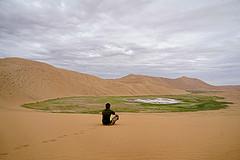 沙漠探险,齐哥带我闯巴丹吉林(上)