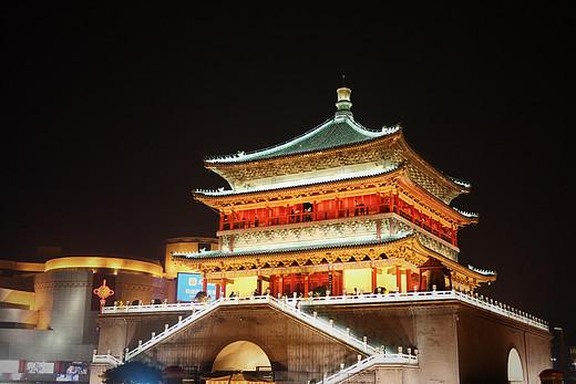 忆长安,九月时-回民街,碑林博物馆,鼓楼-西安,钟楼-西安,大唐芙蓉园