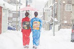 在日本体验冬季恋歌