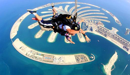 全球最美跳伞圣地,一生一定要去一次-桌山,开普敦,瓦卡蒂普湖