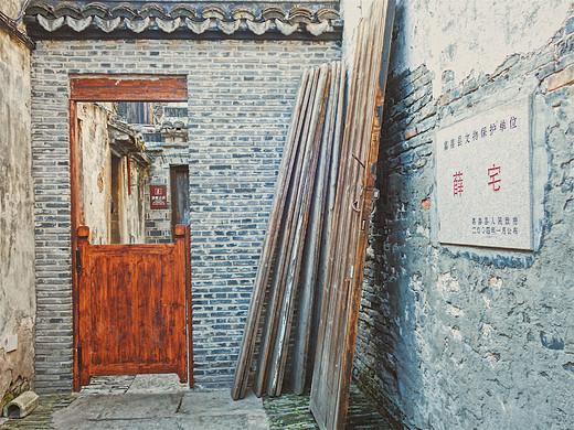 千年西塘古镇,阳光下一幅秀逸画卷!