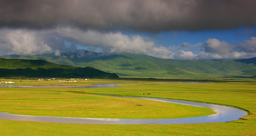 四川最大,最美的草原,也被称为绿宝石的地方,这里的美你必须亲眼所见!-郎木寺,黄河第一湾,花湖,阿坝,若尔盖