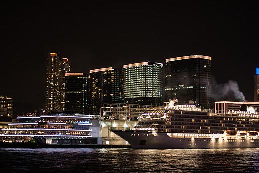 走趟港风浓浓的香港-维多利亚港,尖沙咀