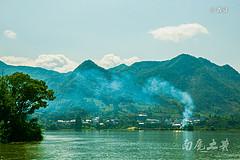 到江南小三峡,十大传世名画《富春山居图》里,去避暑