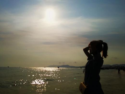 海的歌儿,沙滩的贝壳会听到的-天涯海角,三亚