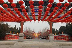 疫情阴影笼罩下的北京春节