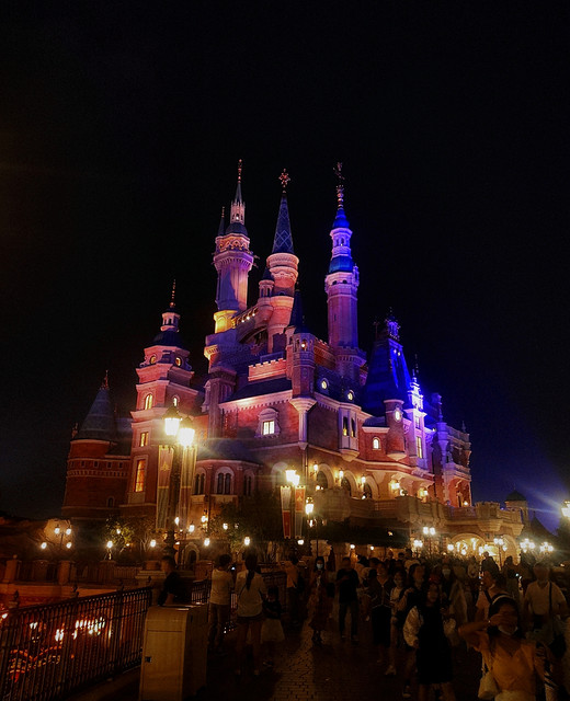 二十有二,许以迪士尼之盛大梦幻,祝我生日快乐-加勒,巴斯,梦幻世界,上海迪士尼乐园,北京