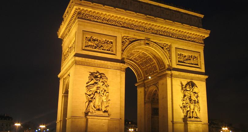 凯旋门-巴黎