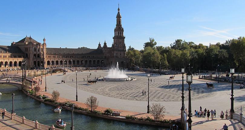 西班牙广场-塞维利亚