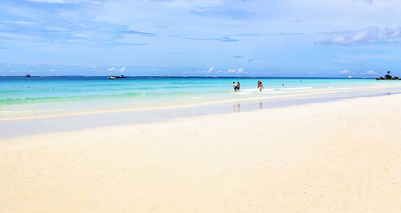 白沙滩-长滩岛