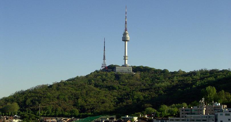 南山公园-首尔