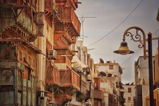 吉达古城,通往麦加圣城之门-红海