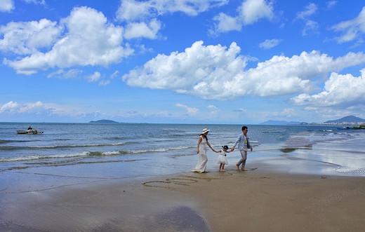 关于三亚,一个人的路上,依然很美~-大东海