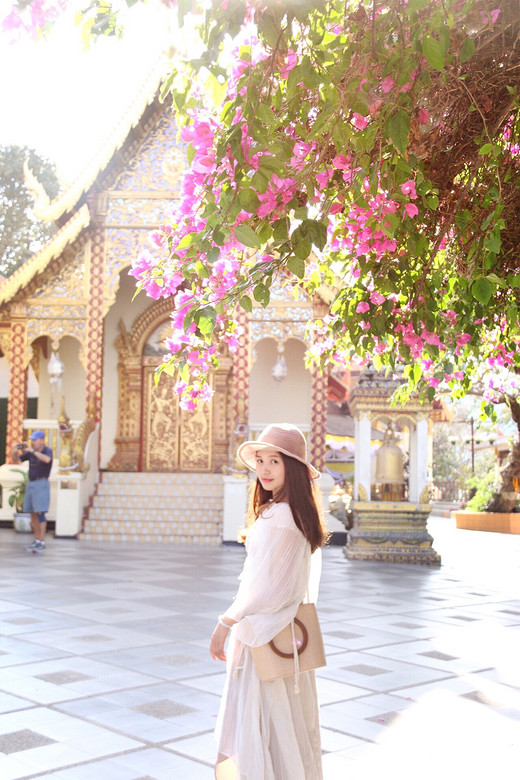 我所遇见的清迈-双龙寺,湄公河,白庙,清迈古城,塔佩门