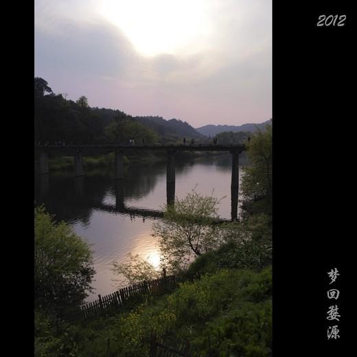 2012年4月重游婺源-李坑,彩虹桥,江岭