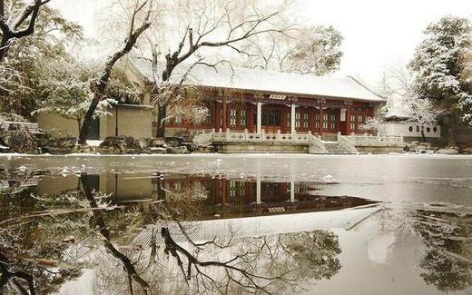 半天游遍北大清华-清华大学,北京大学