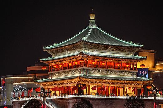 西安这两座楼被视为国宝,有专人24小时看护,数百年未出过意外-鼓楼-西安,钟楼-西安,陕西