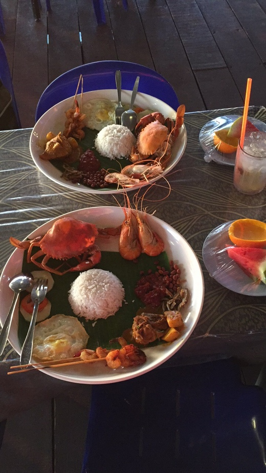 愿出走半生,归来仍是那片深蓝(四)-沙巴-马来西亚,加雅街,曼奴干岛