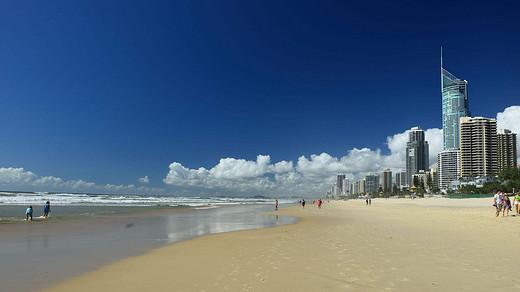 懒虫心中的黄金海岸-冲浪者天堂,澳大利亚