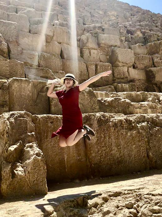 【旅为行 不为游】爱游我去·境外篇之2018 埃及+迪拜行(一)-帝王谷,解放广场,吉萨金字塔,胡夫金字塔,卢克索