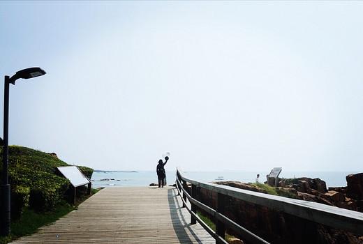 带上汉服去旅行~~青岛-金沙滩,五四广场,八大关