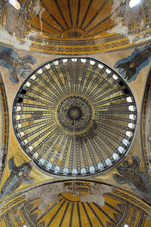 2017土耳其行记之:伊斯坦布尔.3(圣索菲亚大教堂/清真寺/博物馆)-苏丹阿赫迈特广场,圣索菲亚教堂-伊斯坦布尔