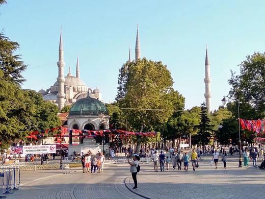 2017土耳其行记之:伊斯坦布尔.10(君士坦丁竞技场 / 苏丹艾哈迈德广场)-苏丹艾哈迈德区