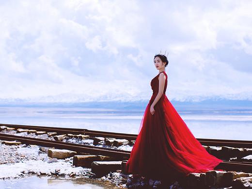 天空之灵-茶卡盐湖