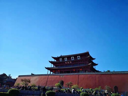 在放肆的蓝天下 尽情的尖叫(三)-建水,云南