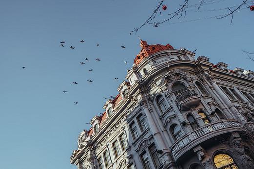等不来南国的白雪飘飘,带你去北国看一场绚烂烟火-中央大街,哈尔滨