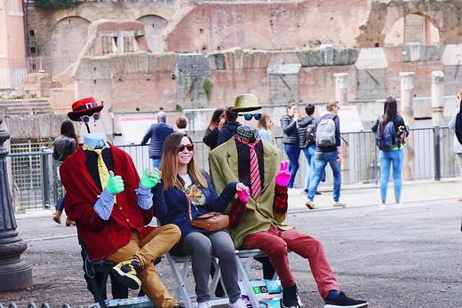 条条道路通罗马-君士坦丁凯旋门,罗马斗兽场,意大利