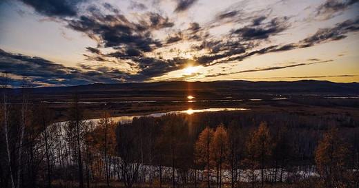金色的呼唤——额尔古纳河的秋(上)-七卡,八卡,漠河,室韦,莫尔道嘎