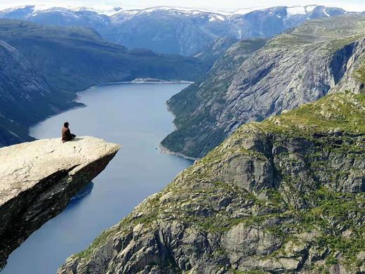 28km来回的挪威恶魔之舌,全靠走!!