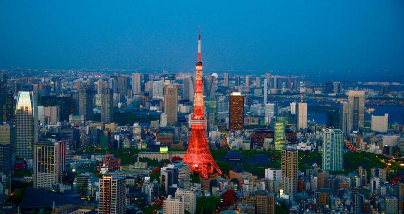 东京城市观景